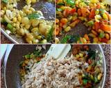 Colorful Wheat Poha recipe step 2 photo