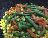 Tumis wortel buncis jagung (side dish untuk steak) langkah memasak 2 foto