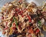 Tongkol Suwir Sambal Matah Kecombrang langkah memasak 4 foto