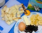 Roti pisang microwave langkah memasak 1 foto
