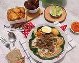 Nasi Gandul Ekonomis langkah memasak 7 foto