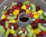 Mango Glass Fruit Pudding langkah memasak 4 foto