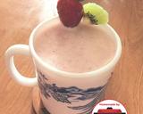 Smoothie strawberry kiwi yogurt #homemadebylita langkah memasak 3 foto