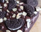 Brownies Oreo langkah memasak 5 foto