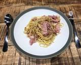 Spagheti Aglio Olio Bacon langkah memasak 3 foto