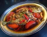 Ikan kecap langkah memasak 4 foto