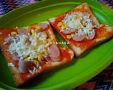 Pizza Roti Tawar Krispi langkah memasak 3 foto