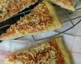 Pizza sosis keju langkah memasak 5 foto