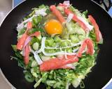 Japanese Cabbage Okonomiyaki Pancake recipe step 3 photo