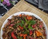 314# Tongkol Suir bunga kecombrang langkah memasak 4 foto