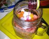 Es buah topping es cream langkah memasak 2 foto