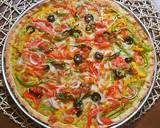 Spinach Hummus Thin Crust Pizza with Hummus Salad recipe step 26 photo