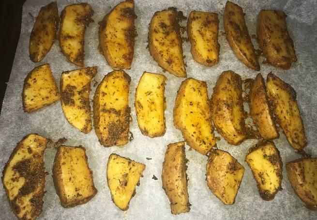 3 Patatas Gajo Al Horno Con Toque De Curry
