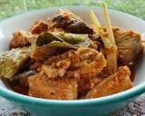 Cakalang Asap & Terong Kuah Pedas langkah memasak 5 foto