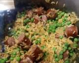 Smoked Beef Sausage and Yellow Rice