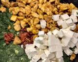 Naleśniki z kurczakiem, szpinakiem, pomidorami suszonymi i fetą krok przepisu 6 zdjęcie
