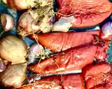 Sos z pieczonych warzyw 🌶🧄🧅🍅🌱 krok przepisu 1 zdjęcie
