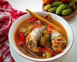 Pallumara Ikan Tongkol langkah memasak 4 foto