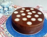 Puding Polkadot Roti Coklat #bikinbareng langkah memasak 6 foto