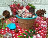Ice Cream Oreo Vanila langkah memasak 3 foto