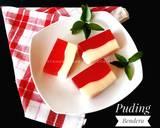 Puding Bendera Merah Putih langkah memasak 5 foto