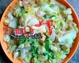 Tumis Sawi Putih langkah memasak 3 foto