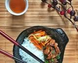 Chicken rice bowl, siap dalam 20 menit langkah memasak 3 foto