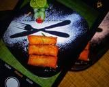 Spring roll & samosa using leftover meat pie doughmatakin girki4 hoto