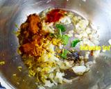 صورة الخطوة 2 من وصفة جمبري بالكاري وحليب جوز الهند