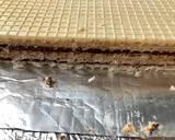 Wafle przekładane masą z kajmakiem, chałwą i kakao krok przepisu 4 zdjęcie