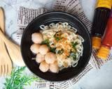 Mie Bakso Udang langkah memasak 3 foto