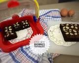 Chewy brownies langkah memasak 7 foto