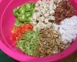 45.Bothok Jawa Timuran. (teri tempe mlanding) langkah memasak 3 foto