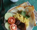 American Breakfast langkah memasak 5 foto