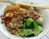 Yahun asin ayam jamur baso langkah memasak 6 foto