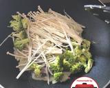 Sapi saus tiram cah brokoli enoki lezat sehat #homemadebylita langkah memasak 4 foto