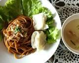 Mie Yamin langkah memasak 6 foto