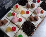 Vanilla Cake Potong Hias (Basic Cake) langkah memasak 7 foto