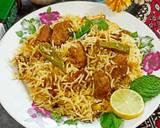 Shan sindhi biryani recipe step 7 photo