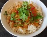 Thai red chicken curry #helpfulcook recipe step 6 photo