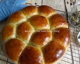 Roti Sobek Bunga Telang langkah memasak 15 foto
