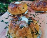 Korean Garlic Bread with homemade Cream Cheese langkah memasak 12 foto