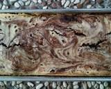 Brownies Marmer Keju langkah memasak 7 foto