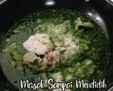 Sayur Daun Singkong Tumbuk langkah memasak 3 foto