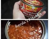 Terong Goreng Siram Tuna Cabai Hijau langkah memasak 2 foto
