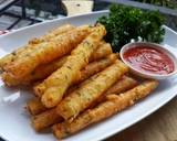 Cheesy Potato Stick langkah memasak 5 foto