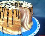 Fluffy Marmer Chiffon Cake langkah memasak 8 foto