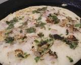 Onion uttapam recipe step 4 photo