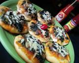 Pizza Mini Bayam langkah memasak 9 foto