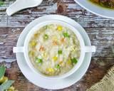 Bubur Nasi Sayur langkah memasak 3 foto
